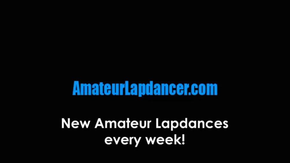 AMATEUR LAPDANCER - Shy skinny cutie lapdances for kinky stranger