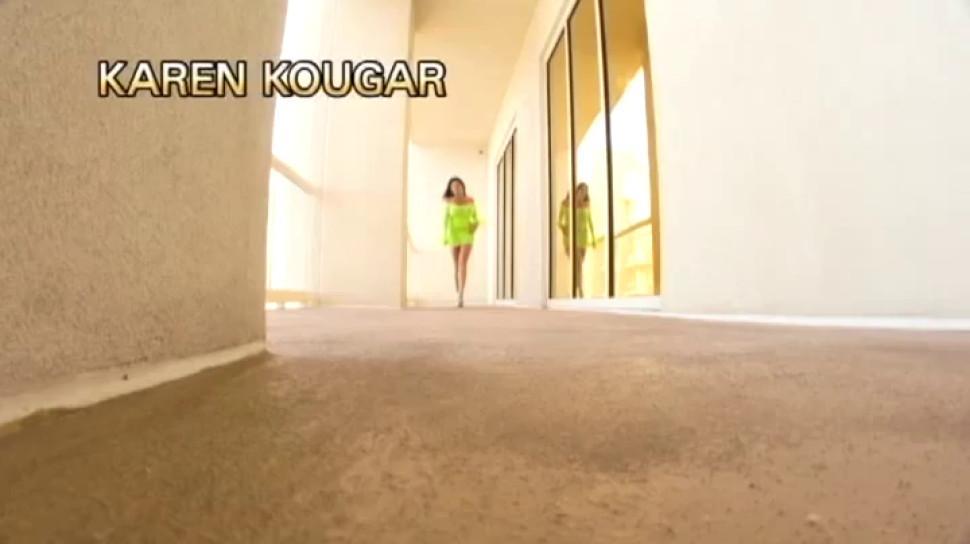 Flash Brown and Karen Kougar