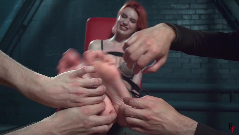 Astrid one hour of foot tickling (preview)