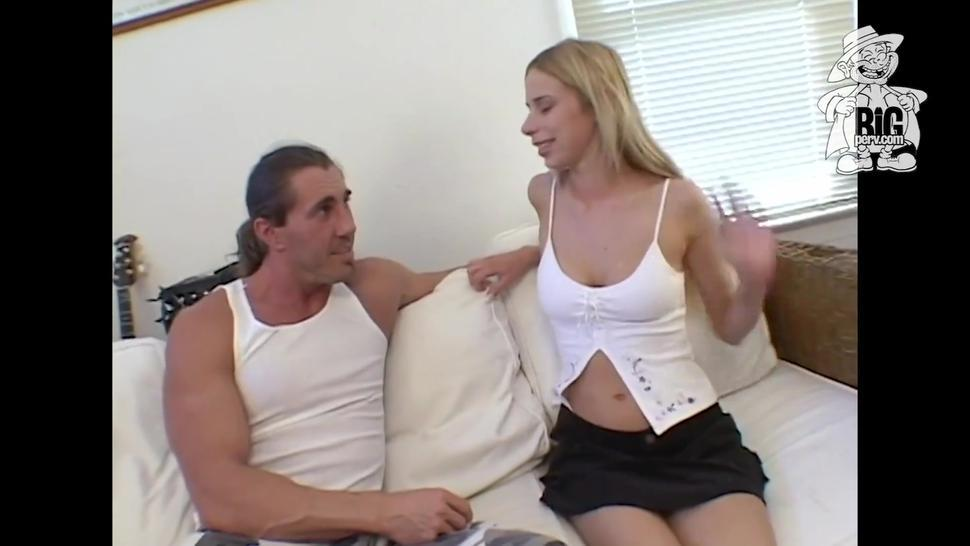 Stunning Blue Eyed Slim Chick Lain Oi Takes A Hard Dick In Her Warm Mouth & Tight Young Pussy!