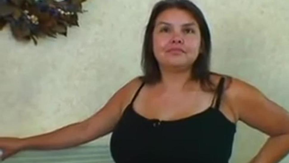 Hot latina mother fucks with two guys