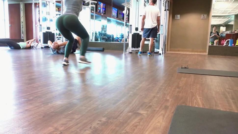 Green Spandex Gym 3