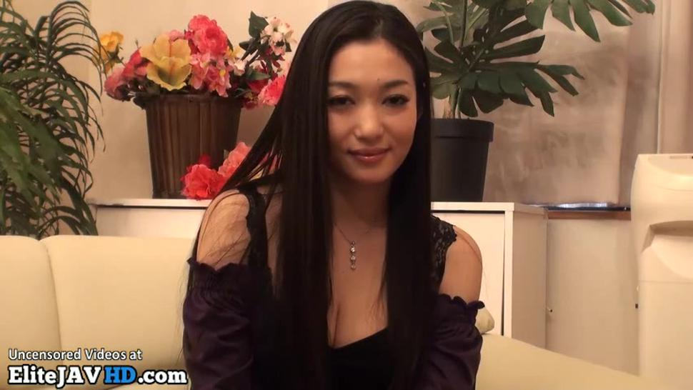 Japanese Most Beautiful Milf Fucks Young Guy