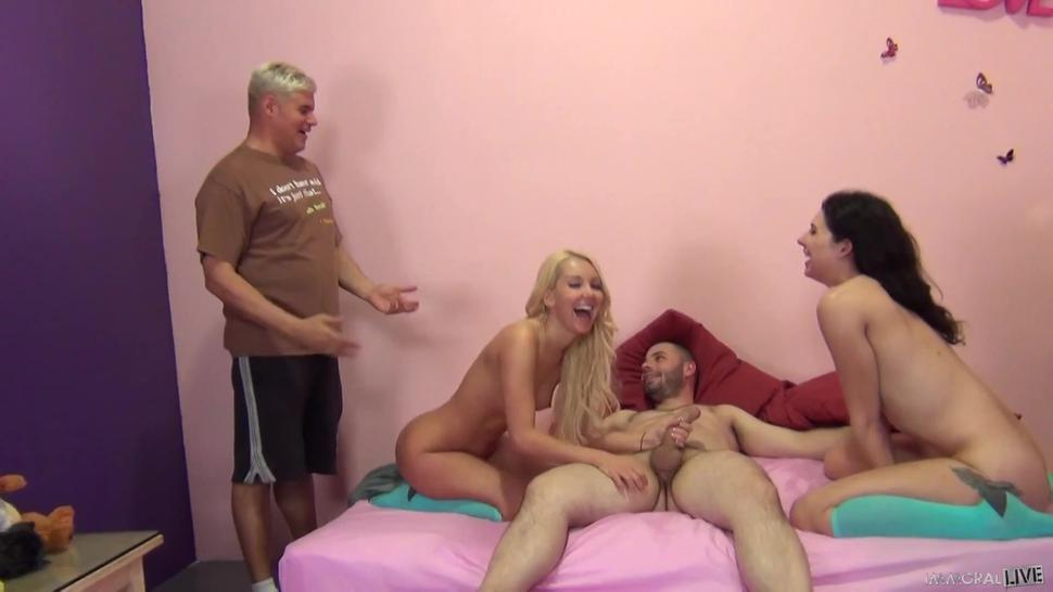 Two Couples Mean Group Sex - Aaliyah Love