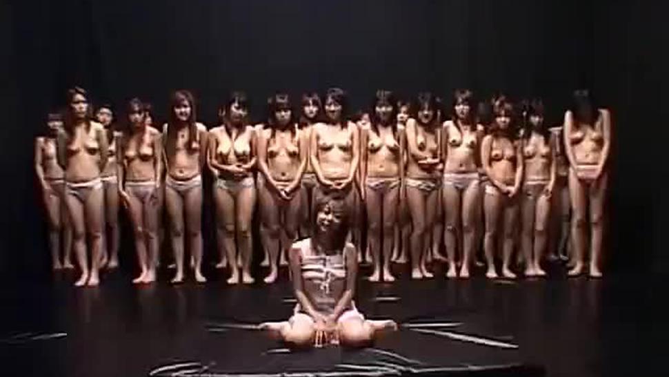 Asian/japanese/lesbian bukkake japanese orgy piss