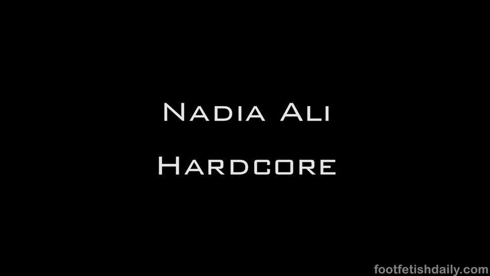 Nadia Ali foot fetish