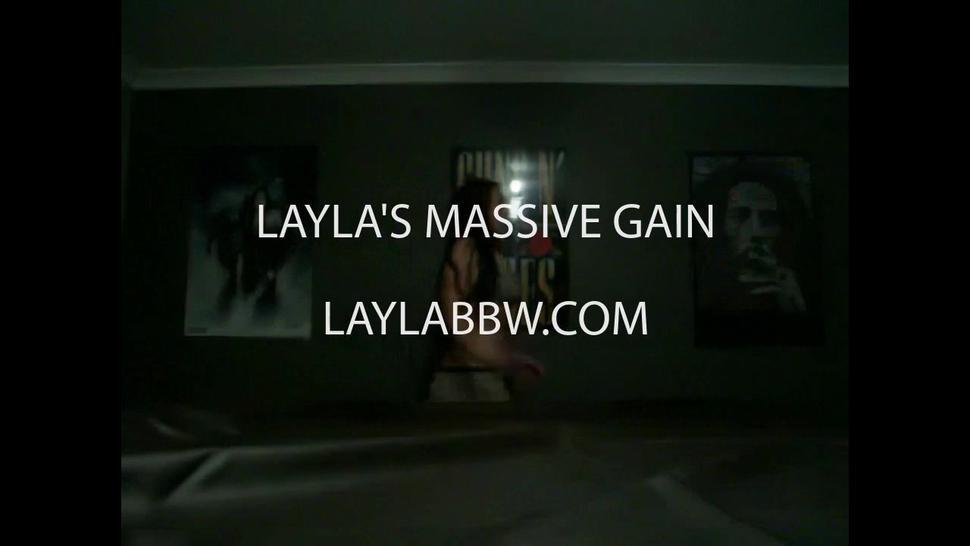 Layla's MASSIVE weight gain!