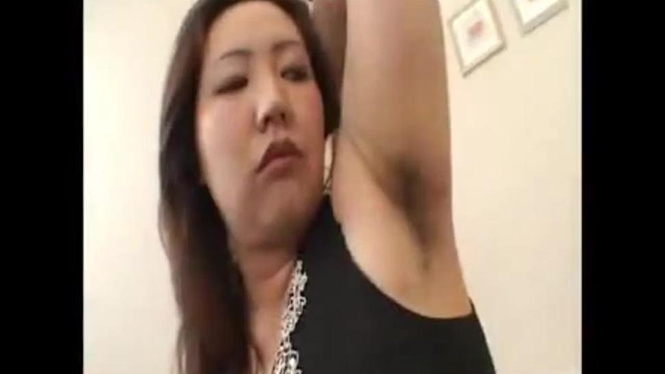 Japanese Hairy Armpit