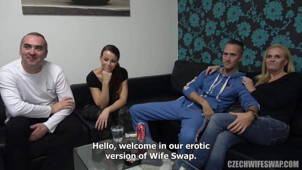 BEAUTIFUL CZECH WIVES SHARED AND CUCKOLDED BY HUSBANDS 3