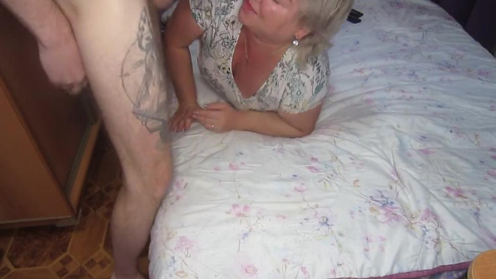 mother-in-law loves to suck and never refuses me this