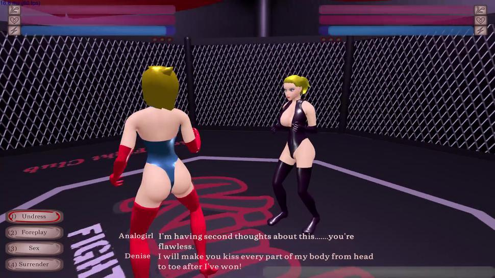 AnaloGirl subdued by Futa Doggystyle! - Kinky Fight Club