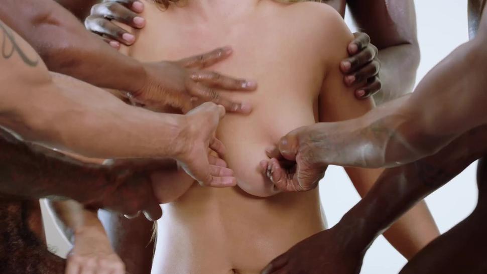 BLACKED Blonde Needs A Real Man To Satisfy Her Needs - Lana Sharapova