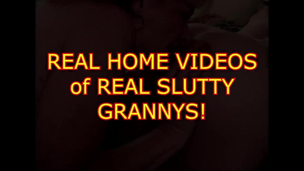 Compilation shows how dirty and fuckable grannies are