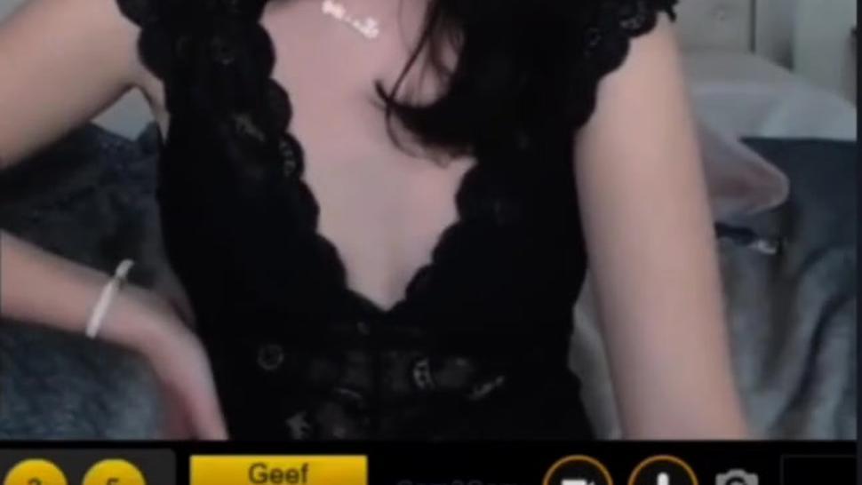Cam girl humiliates me in Cam2Cam private chat(so hot)