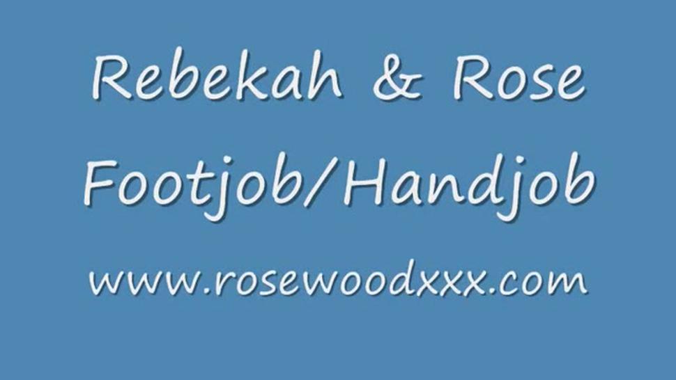 Rebekah And Rose Footjob Handjob - Malisa Moir