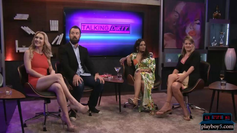 Talk show about sex talks about having sex in public - video 1