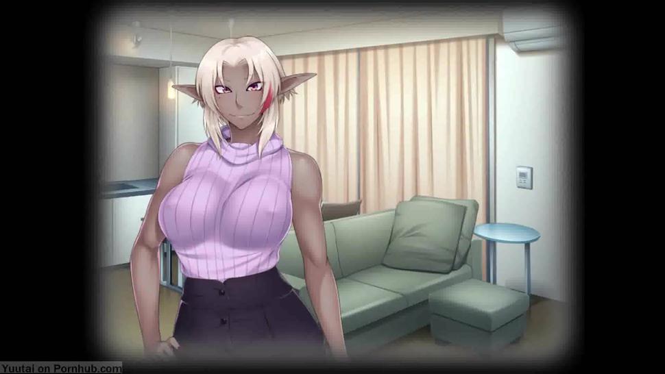 Haha ga Dark Elf ni Natte Isekai kara Modottekita - translate Eng, part 1