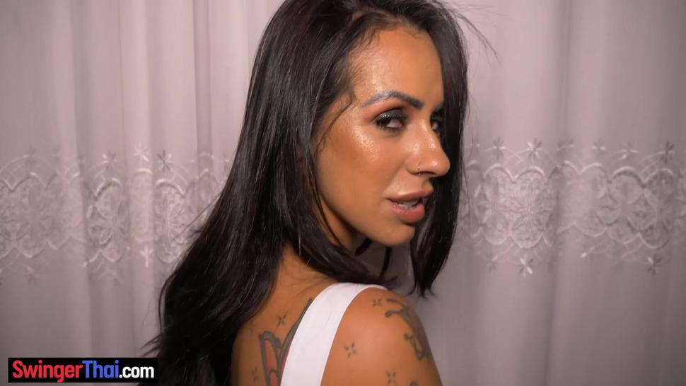 Big round ass amateur latina babe hot blowjob and sex on camera