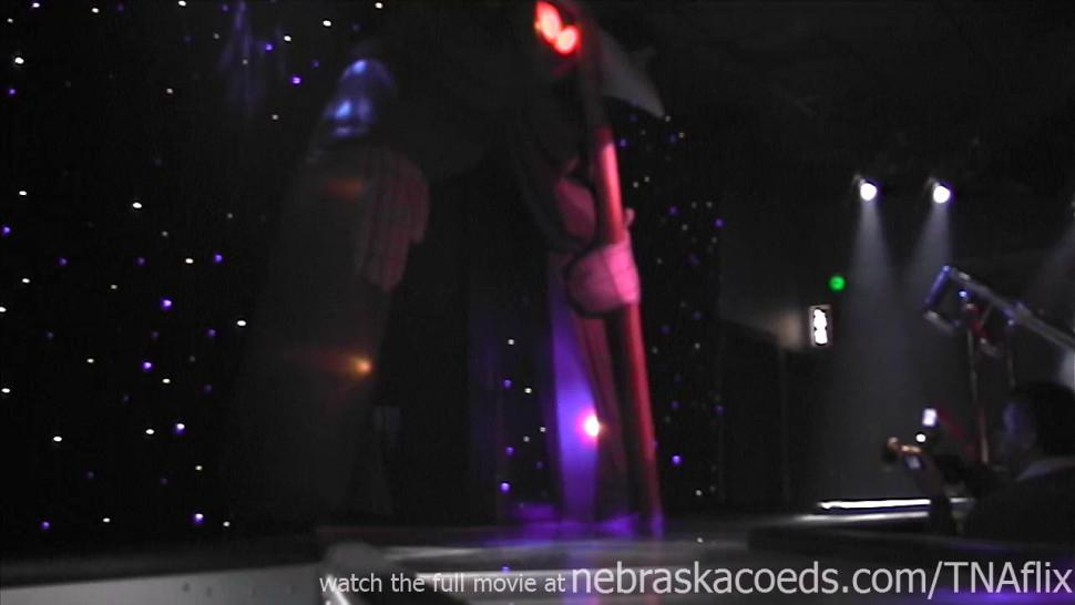 NEBRASKACOEDS - celebrity lookalike amateur strip night at woodys show club cedar rapids iowa