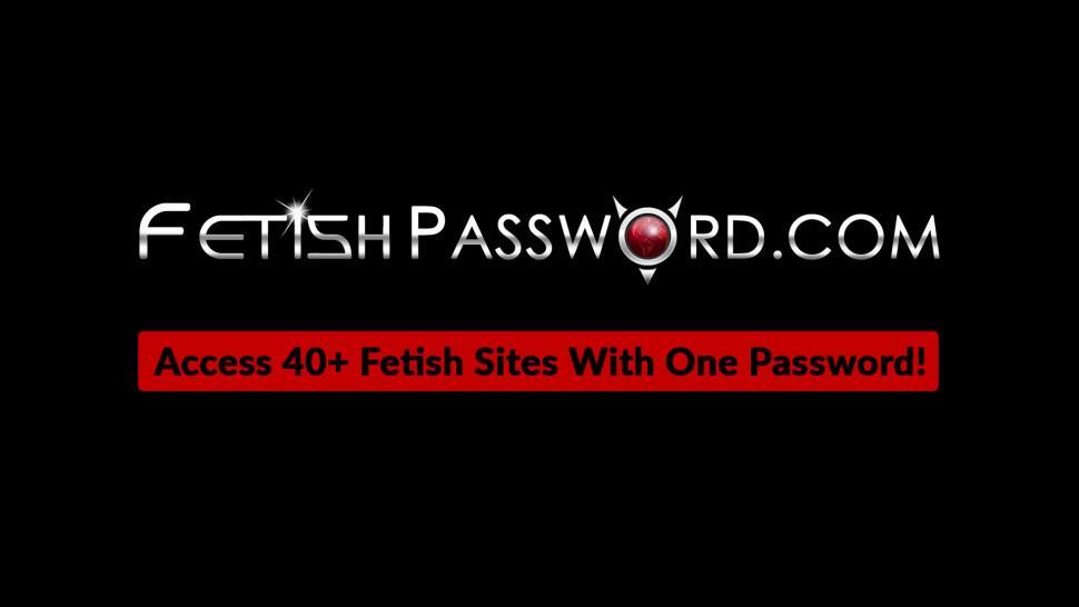 FETISH PASSWORD - Busty Asian Mia Li throat fucking in bondage dungeon