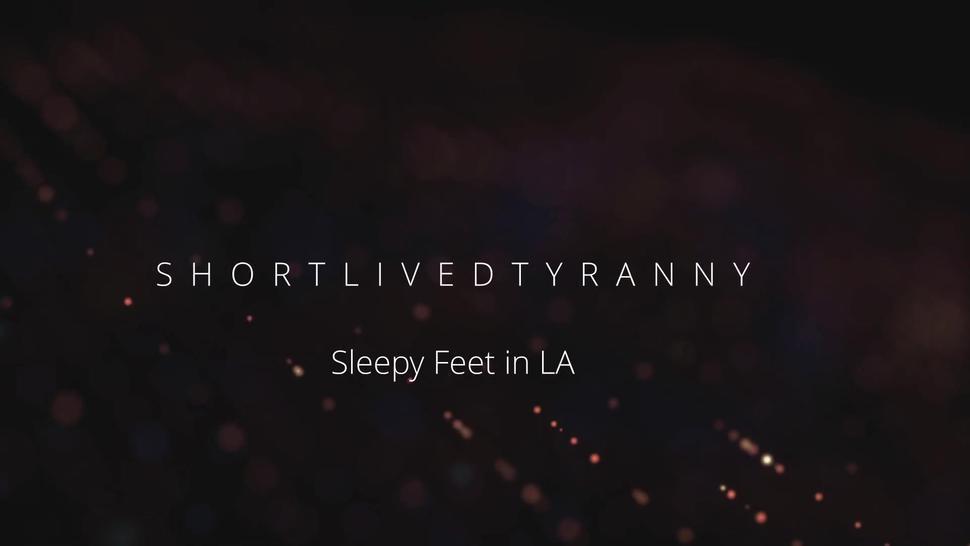 Sleepy Feet in LA (Full video on channel!)