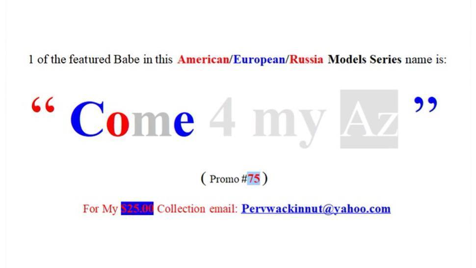 75th European, Russian & American Web Models (Promo)