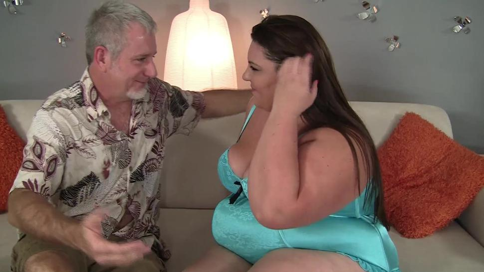 Bbw Babe In Thong Takes Dick Like Candy