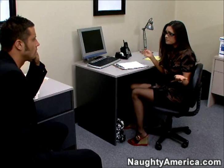 Stephanie Swift Sweaty Office Fuck