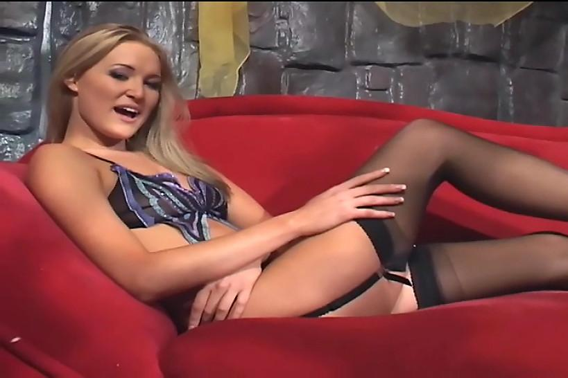 LINGERIE VIDEOS - Sex in thigh high stockings and high heels
