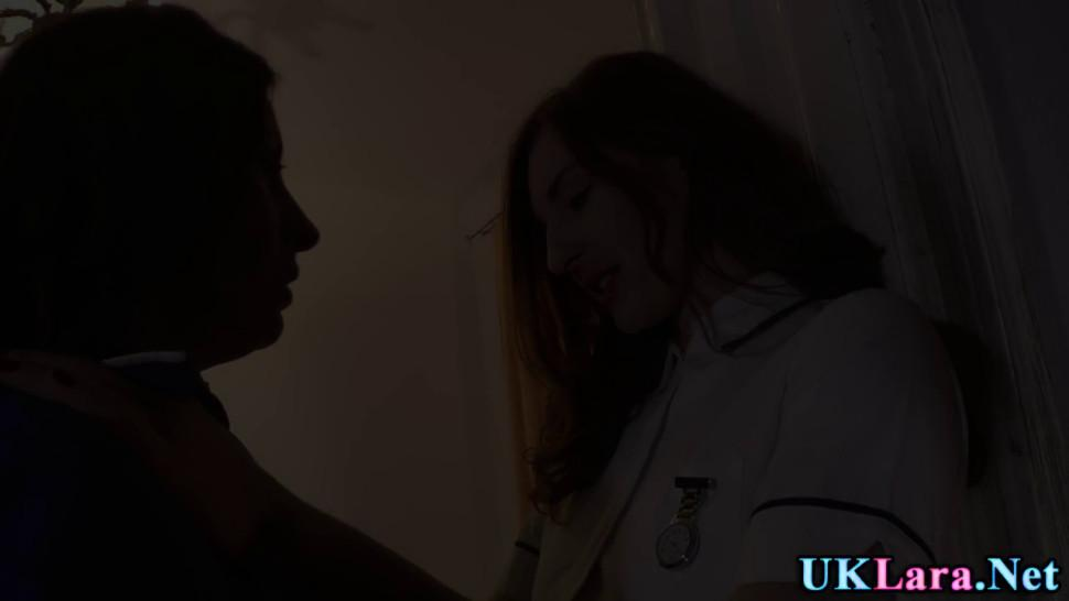 British nurse licked gets licked out