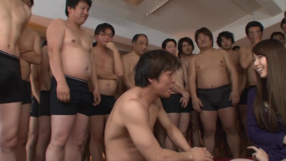 The Hatano Yui 50 Splashes Bukkake - Yui Hatano