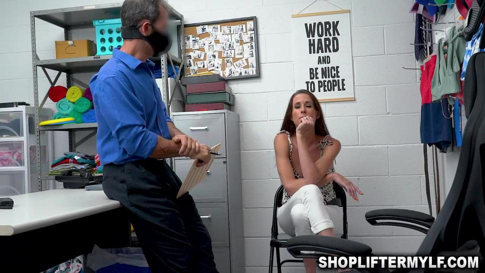 Sofie got fucked for making a scene in the shop