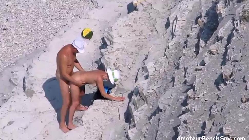 Nude Wife Fucked By Husband On Public Beach