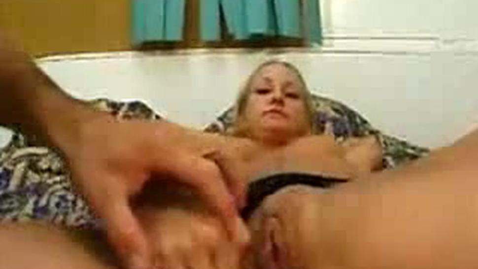 Blonde White Trash Slut Used To The Max