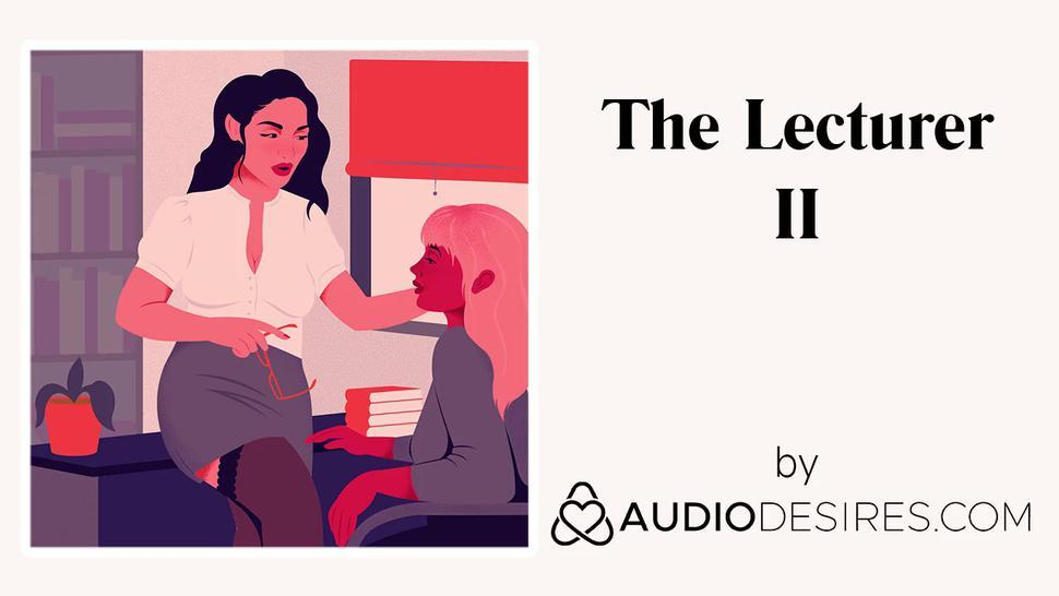 The Lecturer II (Erotic Audio Porn for Women, Sexy ASMR)