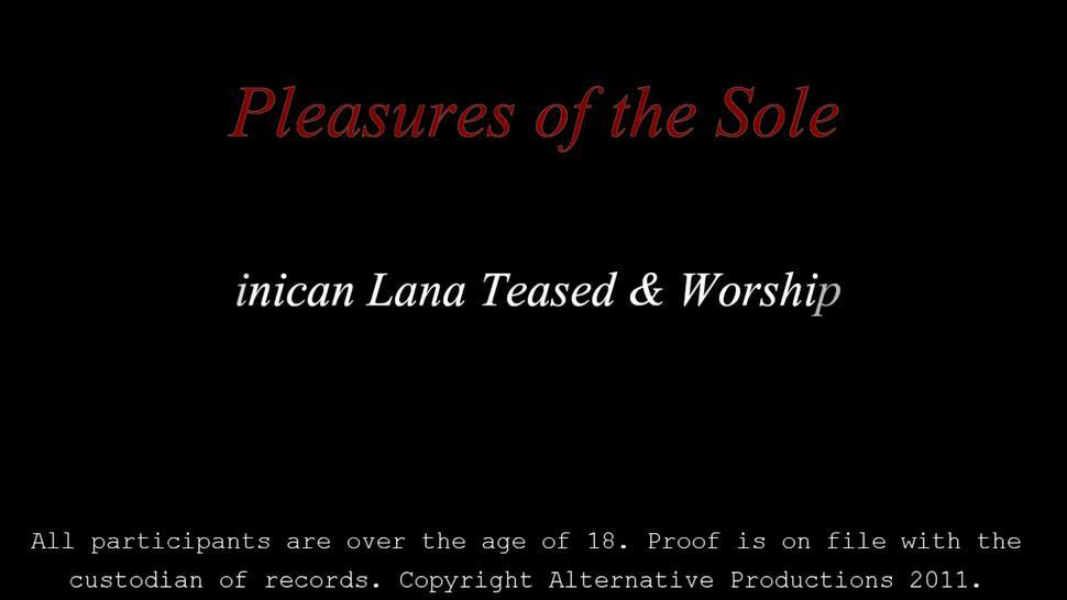 Dominican Foot Worship