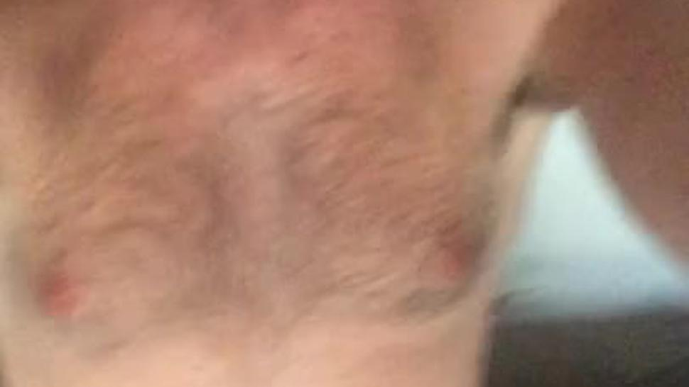 A summer afternoon stroke and cumshot with dirty talking and moaning