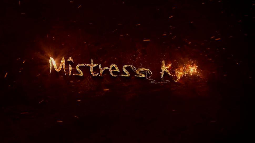 Femdom Facesitting her sub in Chastity - Mistress Kym Story