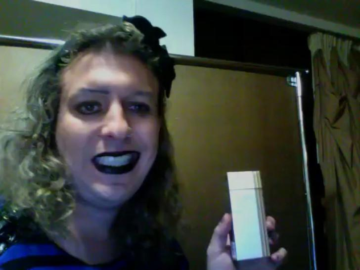 Kristine talks about smoking