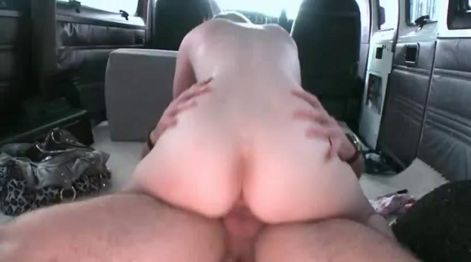 Naked hoe gets twat fucked