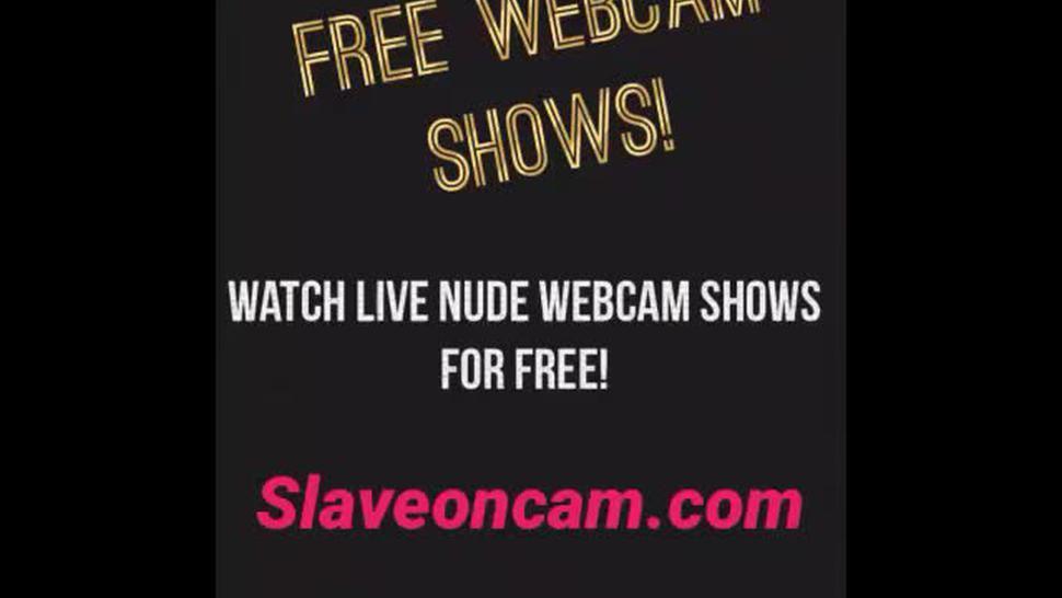 Slutty Latina woman free lives porn webcam show