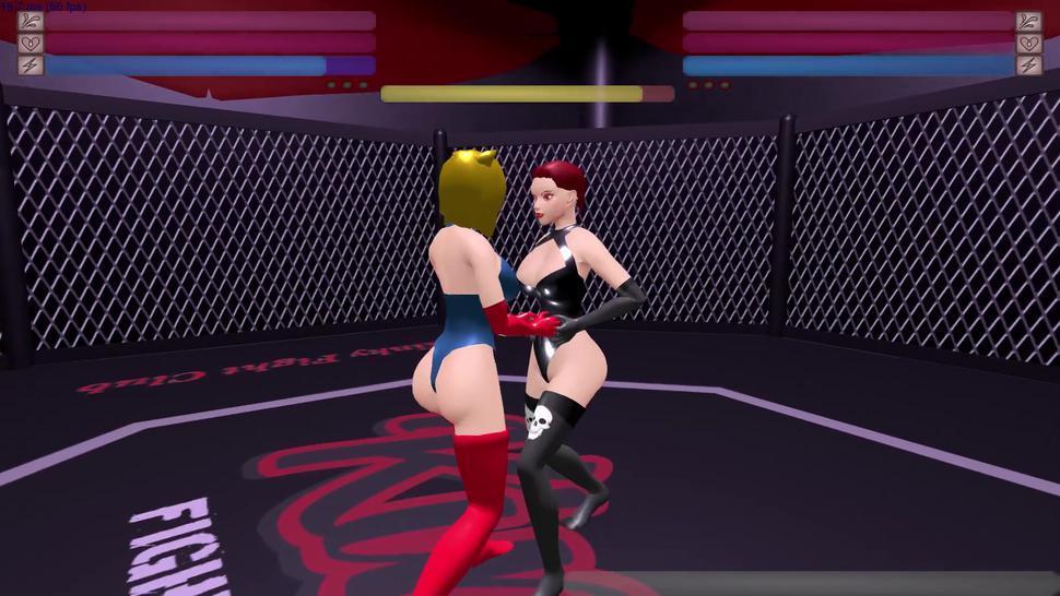 AnaloGirl betas the Futa Succubus! - Kinky Fight Club