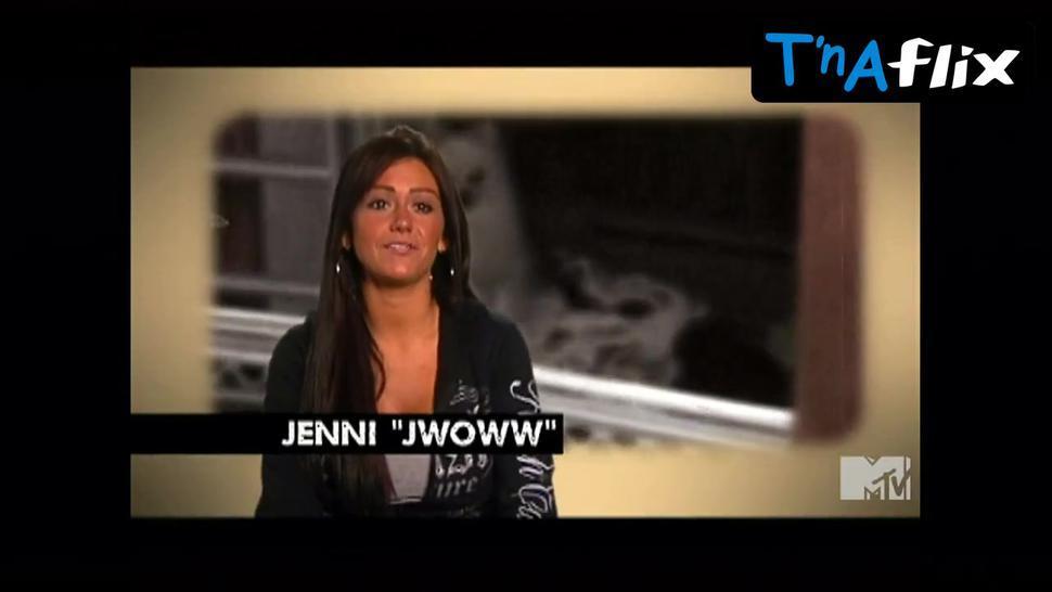 Jenni Jwoww Farley Sexy Scene  in Jersey Shore