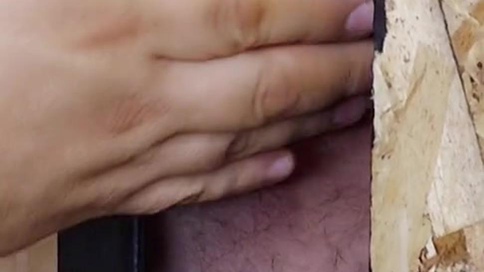 D.J. - Silver Daddy With Fat Dick And Dick Ring At The Gloryhole
