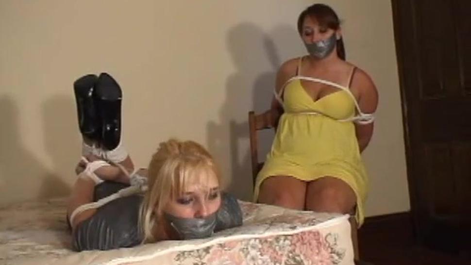 2 girls bound and gagged