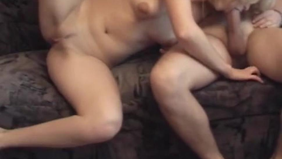 Russian Amateur Wife Really Likes Threesome Cum In Face
