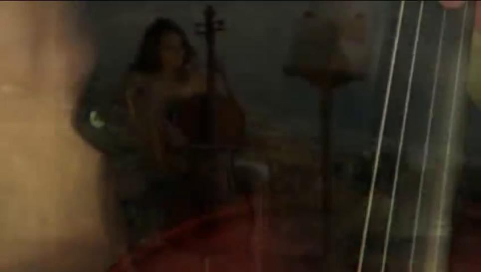 The sexiest cellist model in the world - video 2