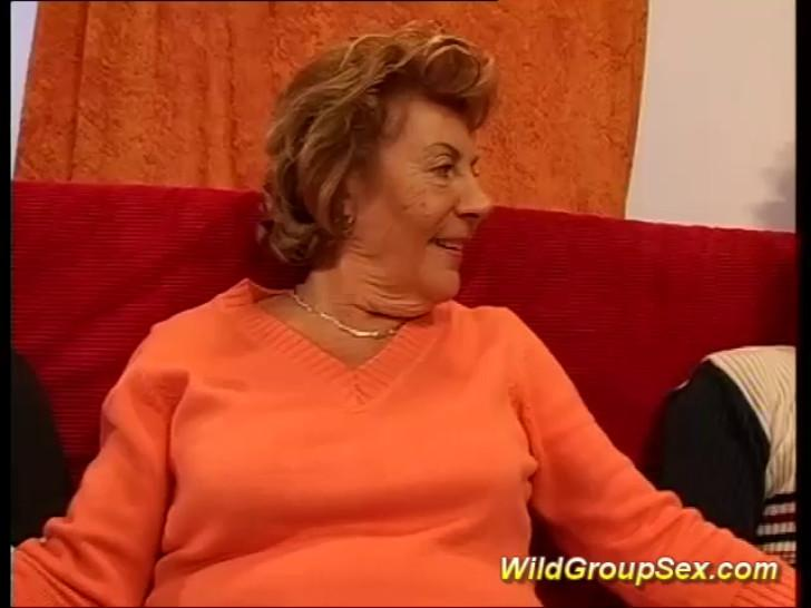WILDGROUPSEX - My grandmas first gangbang