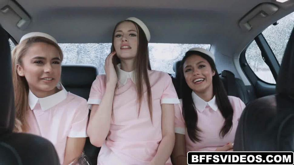 Stewardesses offers top notch fucking service