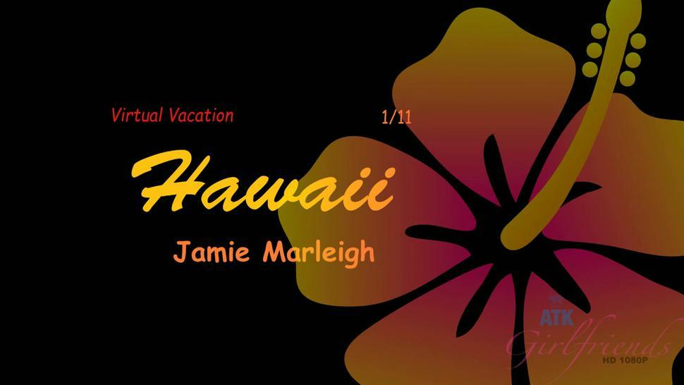 ATK Girlfriends - You have a great time at the luau with Jamie